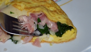 Kale Omlet